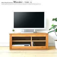 tv stands glass compact stand cm wide alder wood alder solid wood compact wood stand glass