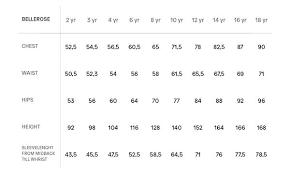 Boys Lee Jeans Size Chart Size Guide Bellerose