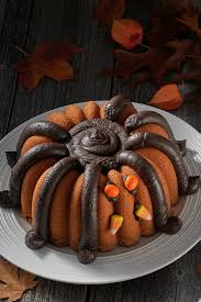 Halloween Bundt Cake Decorations Halloween Spider Bundt Flourish King Arthur Flour