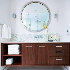 mirrors modern bathroom vanity