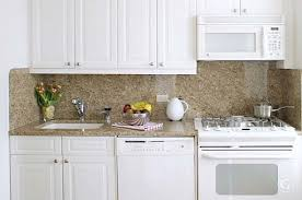 Plain Small White Kitchens With Appliances Perfect Kitchen Cabinets 27 For On Beautiful Design