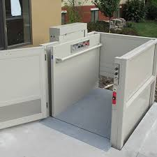 commercial wheelchair lift. Commercial Indoor And Outdoor Vertical Platform Wheelchair Lift I
