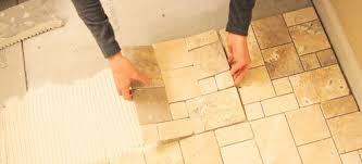 Perfect Easy Travertine Replacing And Installation