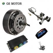 96V 125KPH Electric Car Conversion Kits 2X8000W Hub Motor Kits