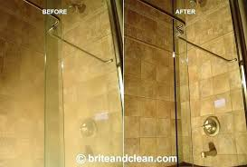 how to clean hard water stains on glass shower doors hard water stains on shower doors how to clean