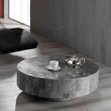 Superior Appealing Ideas Of Furniture In Your Home With Stone Coffee Table: Modern  Sculptured Stone Base Nice Design