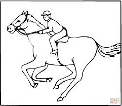 Disegno Di Fantino Su Cavallo Da Colorare Disegni Da Colorare E