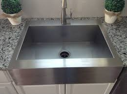 top mount apron front sink. Now Just To Be Fair Will Give One Con Of This Sink But Only The Base Sloped Toward Drain Perfectly Level In Top Mount Apron Front