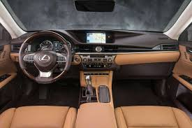 lexus is 350 2017 interior. the lexus es 350 comes with a two-tone leather and wood-trimmed interior is 2017