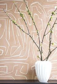 kelly wearstler wallpaper graffito wallpaper in salmon cream kelly wearstler wallpaper kelly wearstler