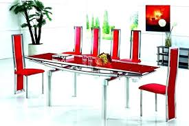 Red dining table set Contemporary Medium Size Of Modern Red Dining Room Chairs And Black Sets Table Set Inspiring Glass Tables Mariop Modern Red Dining Room Sets Chairs And Black Table Set Inspiring
