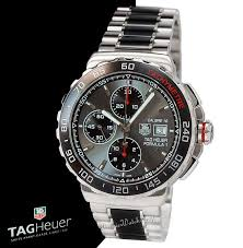 new tag heuer formula 1 chrono cau2011 ba0873 men 039 s automatic stainless steel and brushed black ceramic bracelet
