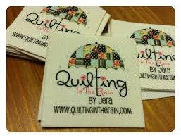 Custom Made Quilt Labels | Quilting in the Rain & Custom Made Quilt Labels Adamdwight.com
