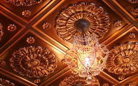 How To Install Decorative Ceiling Tiles Faux Copper Ceiling Tiles Copper Look Light Weight Install 80