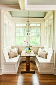 eating nook furniture. Cozy Rustic Breakfast Nook With A Rough Wood Table And Three Benches That Surround It Eating Furniture E