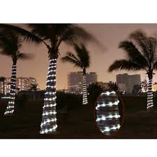 Palm Tree Lights Solar 12m 100 Leds Solar Rope String Lights Waterproof Copper Wire