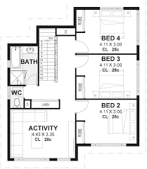 4 Bedroom Floor Plan. Byron 4 Bedroom Floor Plan O