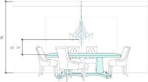 dining room chandeliers height chandelier light pendant he