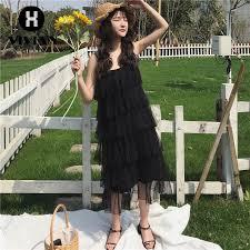 【VIVIAN】Ready stock Korean <b>Fashion Women</b> Lace Hanging <b>long</b> ...