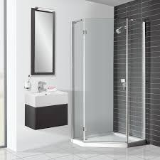 simpsons design pentagon shower enclosure