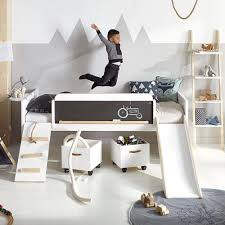 unique childrens furniture. LIMITED EDITION PLAY, LEARN \u0026 SLEEP BED By Lifetime | Unique Kids Bed Cool Children\u0027s Fun With Slide Scandi Style Room Childrens Furniture E