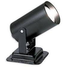 2 inch black mini spot light art lighting battery operated
