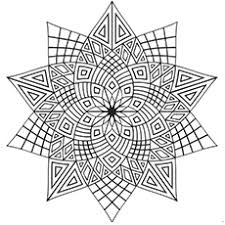 Small Picture Mesmerizing Printable Pattern Coloring Pages Intricate Flower