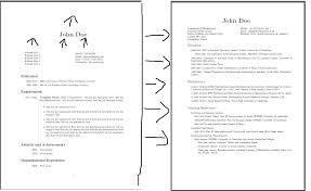 Margins On A Resume Resume Fonts Margins Style Paper Expert Tips