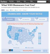 Interactive Map In 13 States Plus D C Obamacare Will Increase