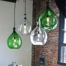 oversized glass jar pendant light antique farmhouse glass jug pendant light glass coffee jar pendant light
