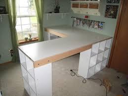 do it yourself office desk. DIY Custom Craft Desk - Take Measurements Once Everything Is Framed Do It Yourself Office K