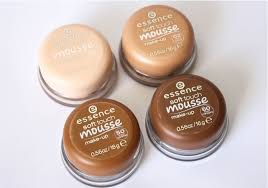 here is what i thought of using the essence soft touch mousse make up and using mousse foundation for the first time
