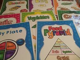 Daycare Organizational Chart 8 Laminated Food Pyramid Teacher Classroom Nutrition Signs 8 5 Inches X 11 Inches Class Organization Charts