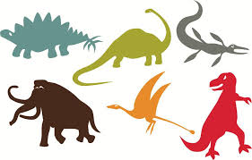 image of giant dinosaur wall decals