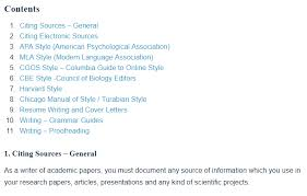 Apa Style How To Research Writing And Style Guides A Research Guide For Students