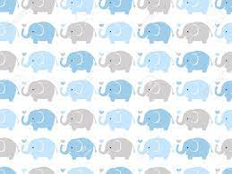 Cute Elephant Pattern Wallpapers - Top ...