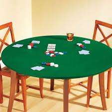round felt game table cover