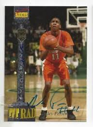 Wesley Pearson 1994 Signature Rookie College Basketball Autographed Card |  eBay