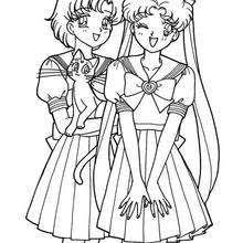 Small Picture Sailor moon sailor chibi moon and co coloring pages Hellokidscom