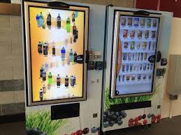Vending Machine Rental Near Me Fascinating Super Fancy Touch Screen Vending Machines There Is A Small Coffee