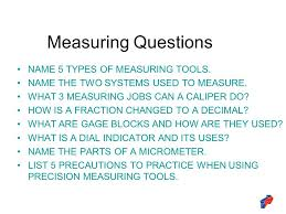 gage name. measuring questions name 5 types of measuring tools. gage name