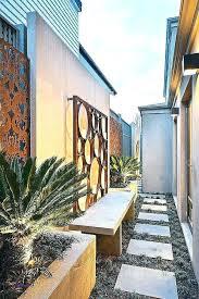 patio wall decor ideas outside elegant backyard fabulous art outdoor