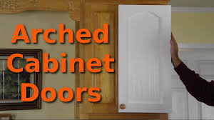 making 10 arched cabinet doors