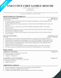 Cook Sample Resume Objective Unique Sample Cook Resumes Line Resume