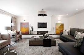 Glamorous Coffee Table With Ottomans Underneath In Living Room Contemporary  With Balanced Beige Next To Ottoman Tray Alongside Retractable Screen Ideas  And ...