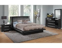 The Dimora Upholstered Collection - Black | Value City Furniture and ...