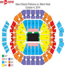 Pelicans Seating Chart New Orleans Pelicans Seating Chart Wajihome Co