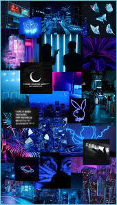 Neon Blue Aesthetic Iphone Wallpaper ...