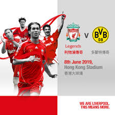 We're live from anfield with the latest. Liverpool Fc Liverpool Fc Legends Will Play Borussia Facebook