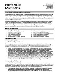 Accounts Receivable Resume Template Stunning Accounting Resume Templates Samples Examples Resume Templates 24